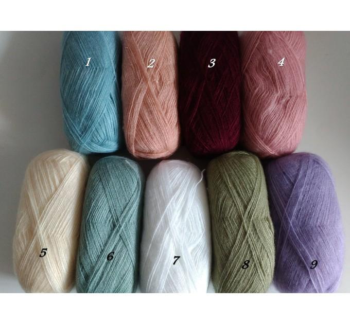 White Shawl Wraps Crochet Shawl Wraps Bridal Wrap Wedding Fringe Shawl Lace Hand Knit Shawl Christmas gift idea Crochet Flower Wool Scarf  Shawl / Wraps  3