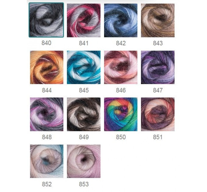 Crochet Shawl Fringe Mohair Rainbow Hand Knit Gay Pride Wedding Gift Wool Lace Triangle Shawl Wrap Bridal Bohemian Shawl Red White Black  Shawl / Wraps  10