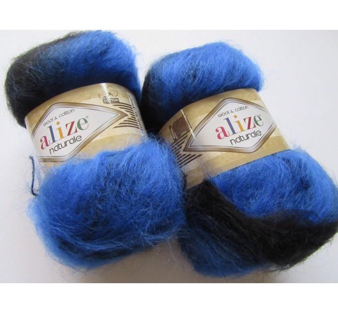 Alize NATURALE MOHAIR yarn COTTON new Blend mohair winter soft wool yarn Knitting crochet shawl yarn Knit sweater poncho yarn for hat scarf  Yarn  10