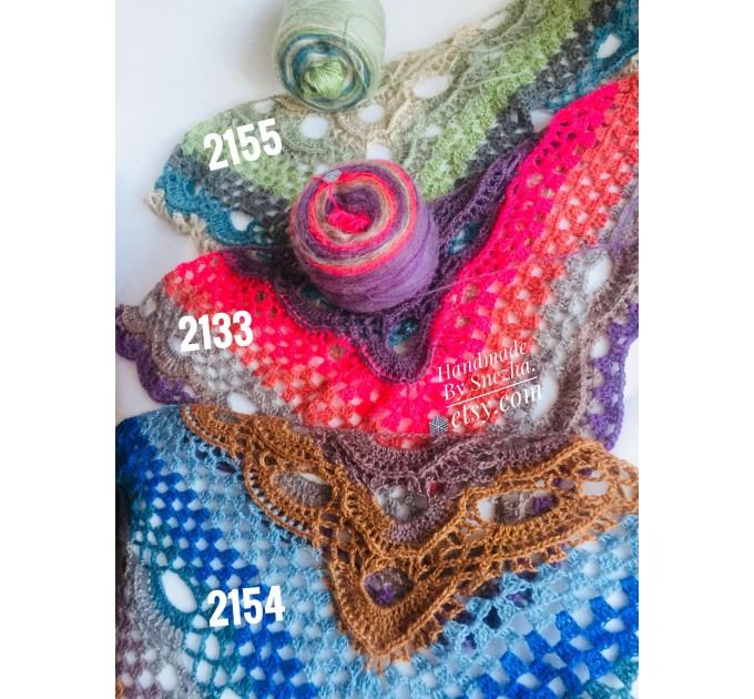 Crochet Shawl Wraps With Fringe Yellow Shawl Best Friend Gift Caregiver Appreciation Gray Acrylic Wool Shawl Easter Shawl Mom Gift, Grandma  Shawl / Wraps  7
