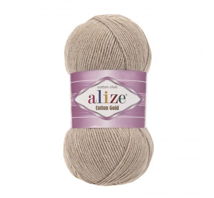 COTTON GOLD Alize Crochet yarn doll pattern amigurumi Yarn for knitting flower yarn baby cotton yarn granny square Shawl wraps yarn  Yarn  10