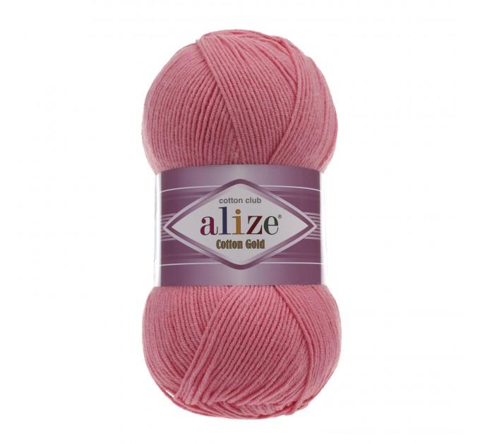 COTTON GOLD Alize Crochet yarn doll pattern amigurumi Yarn for knitting flower yarn baby cotton yarn granny square Shawl wraps yarn  Yarn  7