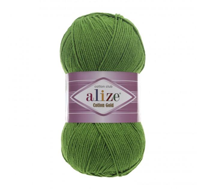 COTTON GOLD Alize Crochet yarn doll pattern amigurumi Yarn for knitting flower yarn baby cotton yarn granny square Shawl wraps yarn  Yarn  9