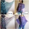 Crochet Poncho Women, Shawl Wrap Fringe Alpaca, Plus Size Festival Clothing, Mohair Big Prayer Gift for Her, Hand Knit Scarf Granny Square,