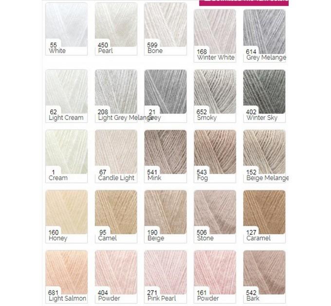 Black Shrug Bolero Hand Knit Summer Light Grey Shrug Lace Knitted Black Shrug Knitted White Mohair Cardigan Green Almond custom colours  Bolero / Shrug  4