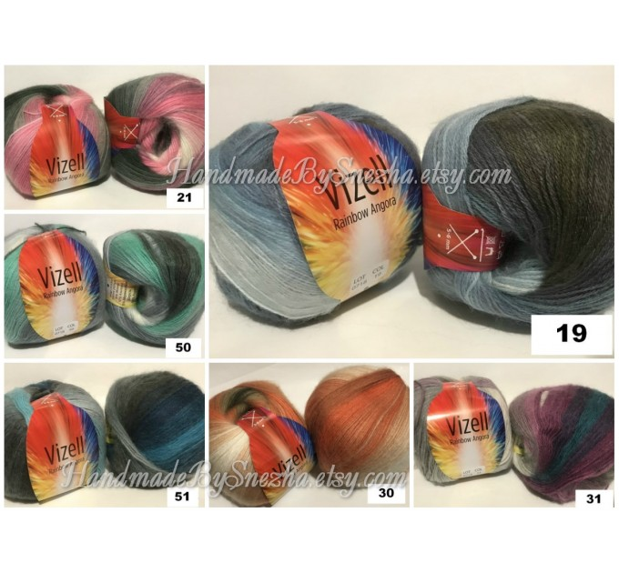 Crochet Shawl Plus Size Poncho Knit poncho gift brooch pin for women Triangle shawl Boho wool multicolor granny square clothing Men  Poncho  10