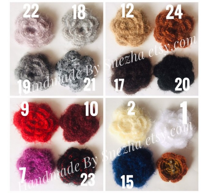 Navy Blue bridesmaid shawl, Ivory Triangle crochet outlander hand knit scarf fringe, Faux fur wrap stole gift for mom Rustic bridal shawl  Shawl / Wraps  4