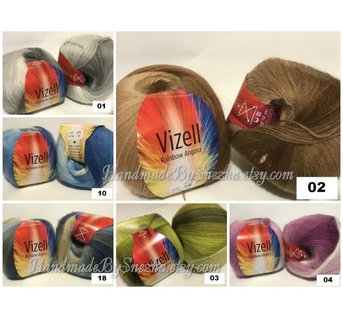 Crochet Poncho Women Fringe Mohair Big Size Maxi Triangle Shawl Gradient Blue Alpaca Long Hand knit Bohemian Festi Hand Knit Shawl  Shawl / Wraps  9