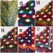 Crochet shawl wraps, Outlander shawl pin brooch, Orange festival Boho hippie hand knit shawl vegan, Crochet triangle scarf gypsy Evening  Shawl / Wraps  8