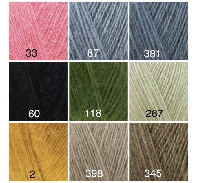 ALIZE ANGORA GOLD Yarn Mohair Wool Yarn Acrylic Crochet Shawl Wraps Soft Yarn Knitting Sweater Cardigan Hat Poncho Yarn Scarf  Yarn  8