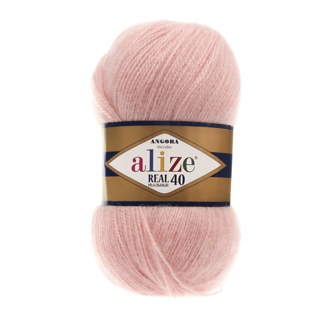 ALIZE ANGORA REAL 40 Yarn Mohair Wool Yarn Acrylic Knitting Sweater Cardigan Hat Poncho  Scarf Crochet Shawl Wraps Soft Yarn  Yarn
