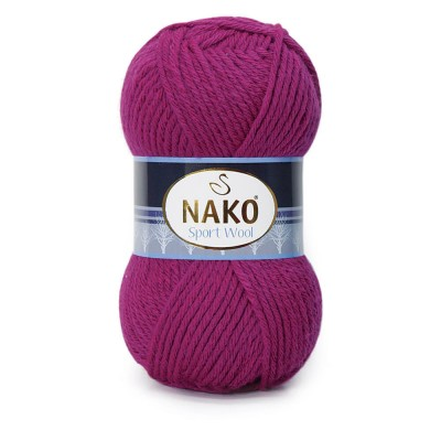 NAKO SPORT WOOL Yarn Wool Acrylic Yarn Multicolor Crochet Shawl Socks Cardigan Knitting Scarf Hat Sweater Poncho
