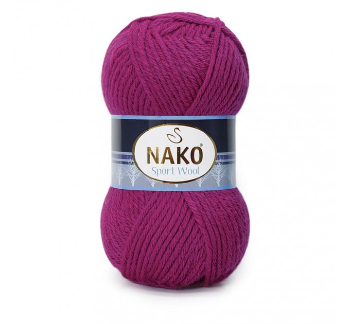 NAKO SPORT WOOL Yarn Wool Acrylic Yarn Multicolor Crochet Shawl Socks Cardigan Knitting Scarf Hat Sweater Poncho  Yarn
