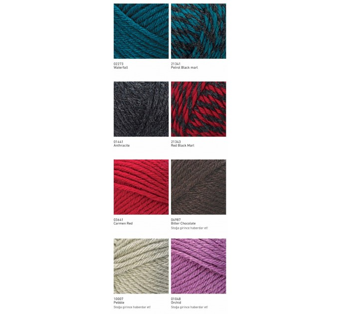 NAKO SPORT WOOL Yarn Wool Acrylic Yarn Multicolor Crochet Shawl Socks Cardigan Knitting Scarf Hat Sweater Poncho  Yarn  2