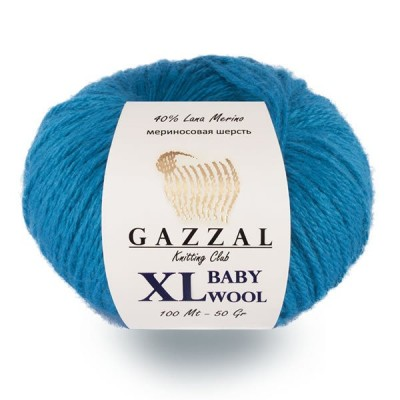 Gazzal BABY WOOL XL Yarn Merino Wool Yarn Cashmere Yarn Crochet Scarf Sweater Knitting Hat Cardigan Poncho Pullover Shawl