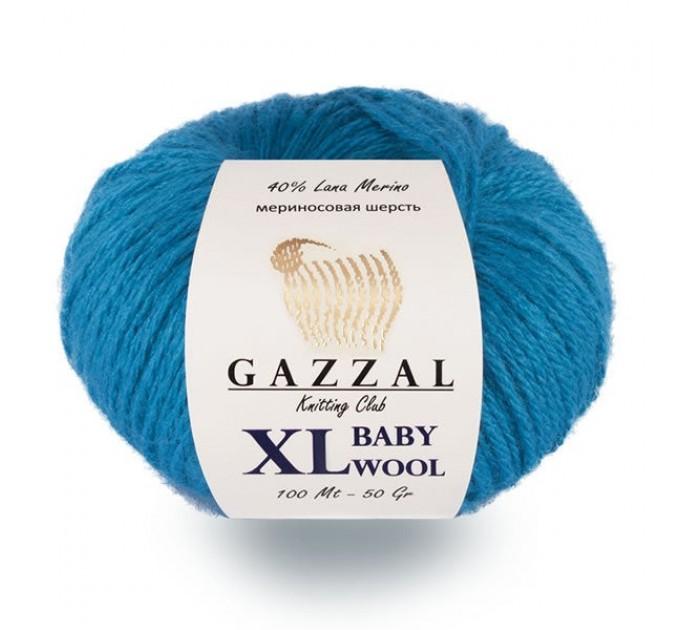 Gazzal BABY WOOL XL Yarn Merino Wool Yarn Cashmere Yarn Crochet Scarf Sweater Knitting Hat Cardigan Poncho Pullover Shawl  Yarn