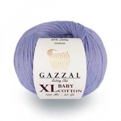 Gazzal BABY COTTON XL Yarn Organic Cotton Yarn Hypoallergenic Vegan Yarn Baby Yarn Booties Crochet Sweater Pullover Poncho