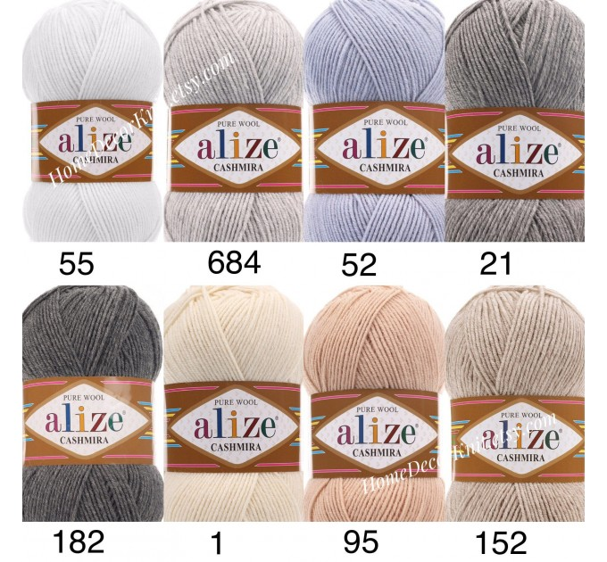 ALIZE CASHMIRA Yarn 100 Wool Knitting Yarn Wool Shawl Crochet Yarn Knitting Cardigan Sweater Poncho Scarf Hat  Yarn  2