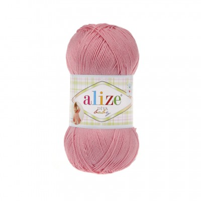 ALIZE DIVA BABY Yarn Microfiber Acrylic Yarn Silk Effect Crochet Multicolor Summer Rainbow Yarn Baby Clothes Yarn