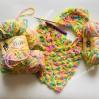 ALIZE SOFTY Yarn Gradient Yarn Multicolor Yarn For Kids Rainbow Yarn Plush Yarn Baby Yarn Soft Yarn Color Mix Knitting Yarn
