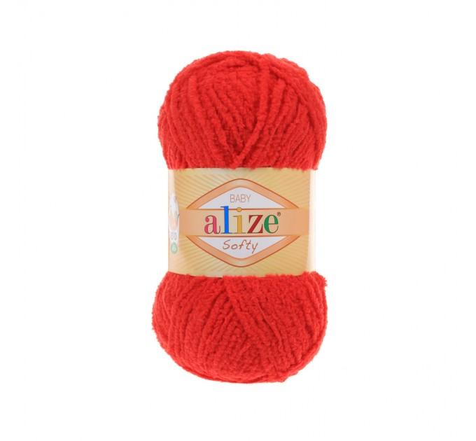 ALIZE SOFTY Yarn Gradient Yarn Multicolor Yarn For Kids Rainbow Yarn Plush Yarn Baby Yarn Soft Yarn Color Mix Knitting Yarn  Yarn  3