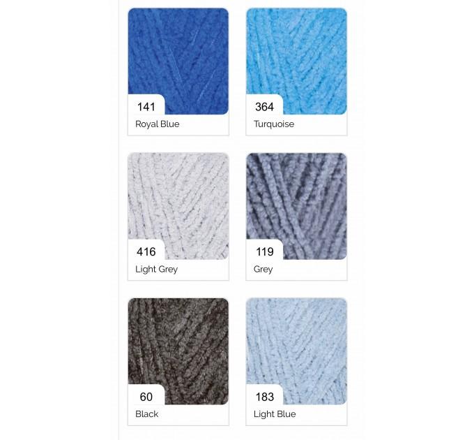 ALIZE SOFTY Yarn Gradient Yarn Multicolor Yarn For Kids Rainbow Yarn Plush Yarn Baby Yarn Soft Yarn Color Mix Knitting Yarn  Yarn  1