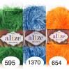 ALIZE DECOFUR Yarn Eyelash Yarn Shaggy Yarn Faux Fur Perfect For Clothes Decoration Carnival Costumes Sparkle Crochet Shawl Scarf Fur Yarn