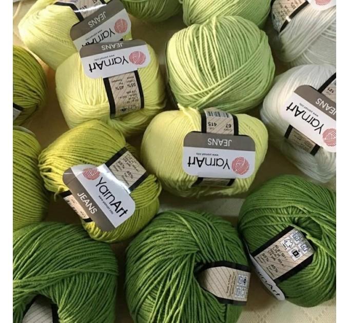 YARNART JEANS yarn cotton acrylic yarn Hypoallergenic yarn knitting cotton crochet yarn fiber classic yarn Turkish yarn amigurumi yarn  Yarn  10