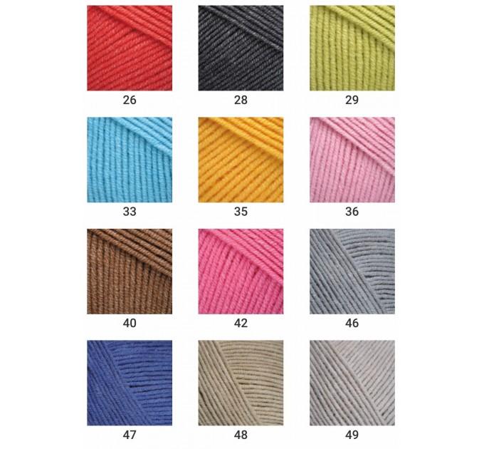 YARNART JEANS yarn cotton acrylic yarn Hypoallergenic yarn knitting cotton crochet yarn fiber classic yarn Turkish yarn amigurumi yarn  Yarn  3