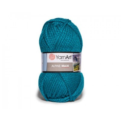 YARNART ALPINE MAXI Yarn, 250 gr. - 105 m Chunky Wool Yarn, Acrylic Wool Yarn, Super Chunky Yarn, Big Yarn, Wool Yarn, Super Bulky Yarn