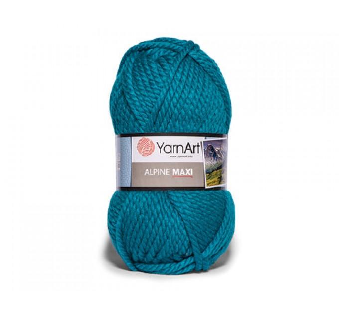 YARNART ALPINE MAXI Yarn, 250 gr. - 105 m Chunky Wool Yarn, Acrylic Wool Yarn, Super Chunky Yarn, Big Yarn, Wool Yarn, Super Bulky Yarn  Yarn  3