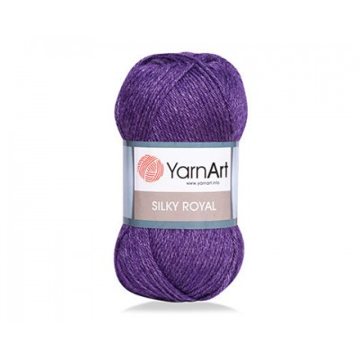 YARNART SILK ROYAL Yarn, Merino Wool Yarn, Blend Wool, Silky Wool, Silk Yarn, Wool Yarn, Soft Yarn, Rayon Yarn, Crochet Rayon Yarn