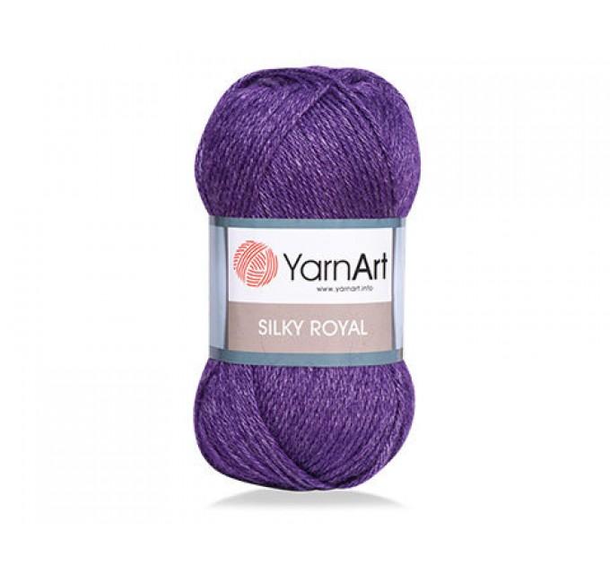 YARNART SILK ROYAL Yarn, Merino Wool Yarn, Blend Wool, Silky Wool, Silk Yarn, Wool Yarn, Soft Yarn, Rayon Yarn, Crochet Rayon Yarn  Yarn