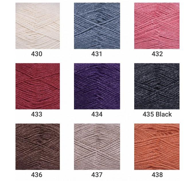 YARNART SILK ROYAL Yarn, Merino Wool Yarn, Blend Wool, Silky Wool, Silk Yarn, Wool Yarn, Soft Yarn, Rayon Yarn, Crochet Rayon Yarn  Yarn  1