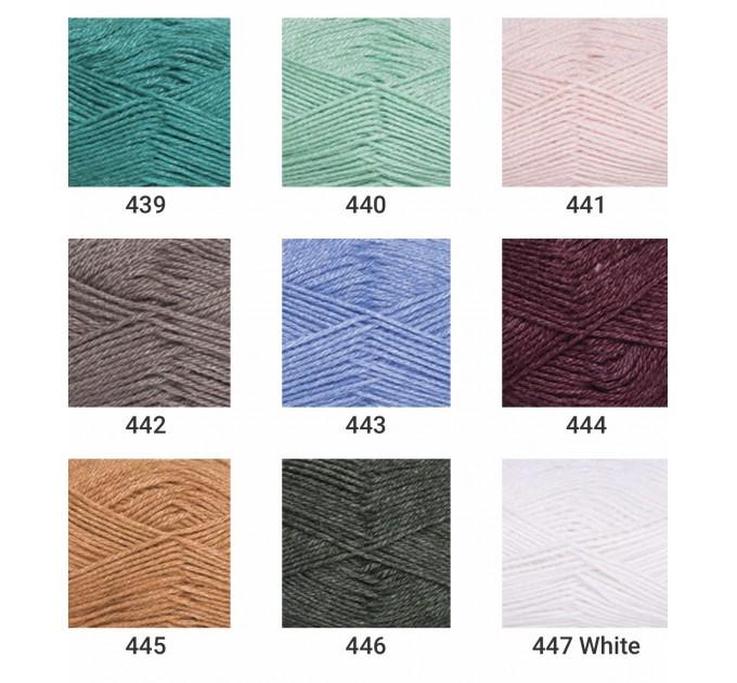 YARNART SILK ROYAL Yarn, Merino Wool Yarn, Blend Wool, Silky Wool, Silk Yarn, Wool Yarn, Soft Yarn, Rayon Yarn, Crochet Rayon Yarn  Yarn  3