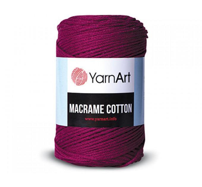 YarArt MACRAME COTTON Yarn, Cotton Yarn, Cotton cord, Macrame yarn, Crochet Rugs, Cord Yarn, Rug Yarn Macrame Cord Macrame Rope, Macrame Bag  Yarn  2