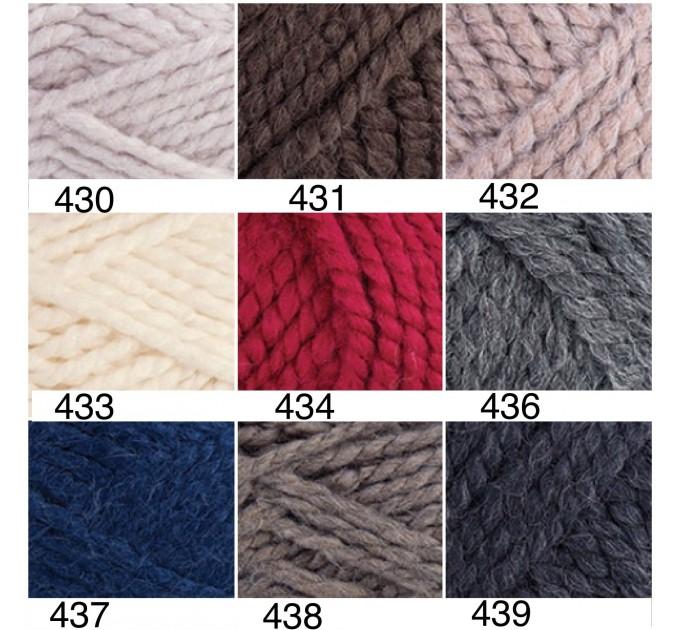 YARNART ALPINE ALPACA Yarn Wool Yarn Alpaca Yarn Chunky Wool Yarn Acrylic Yarn, Super Chunky Yarn, Big Yarn, Super Bulky Yarn Crochet Yarn  Yarn  2
