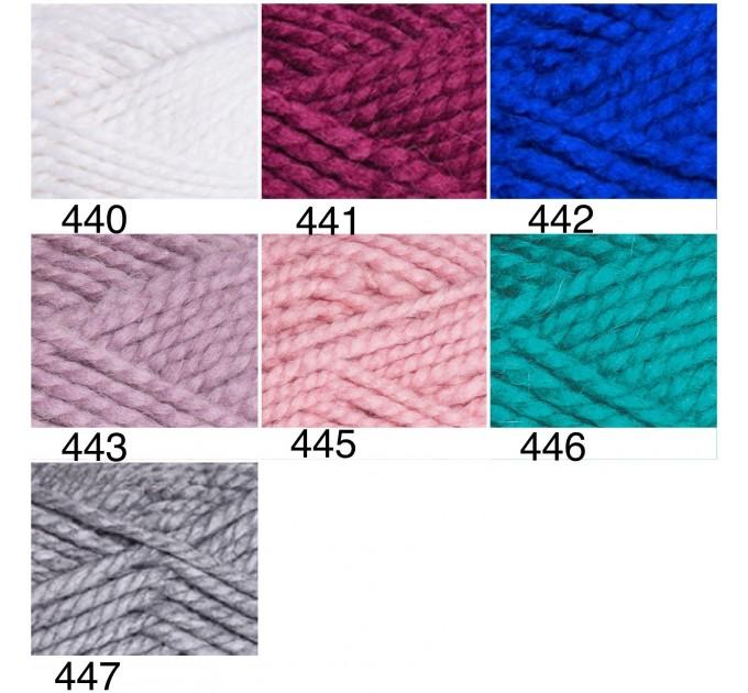 YARNART ALPINE ALPACA Yarn Wool Yarn Alpaca Yarn Chunky Wool Yarn Acrylic Yarn, Super Chunky Yarn, Big Yarn, Super Bulky Yarn Crochet Yarn  Yarn  3