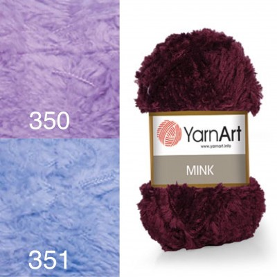 YARNART MINK Yarn, Fluffy Yarn, Faux Fur Yarn, Fantazy Yarn, Fur Yarn, Soft Yarn, Amigurumi Yarn, Fake Fur Yarn, Fancy Yarn