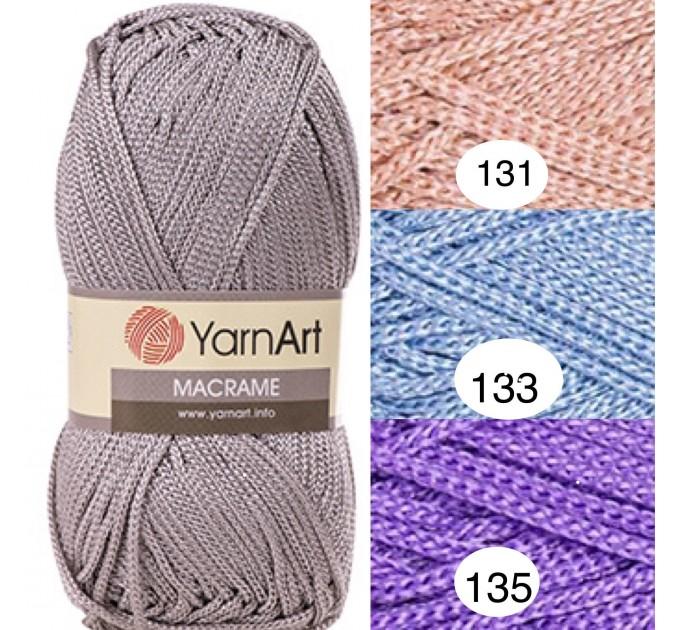 YarArt MACRAME Yarn, Cord Yarn, Macrame yarn, Crochet Rugs, Rug Yarn, Macrame Cord, Macrame Rope, Macrame Bag  Yarn  1
