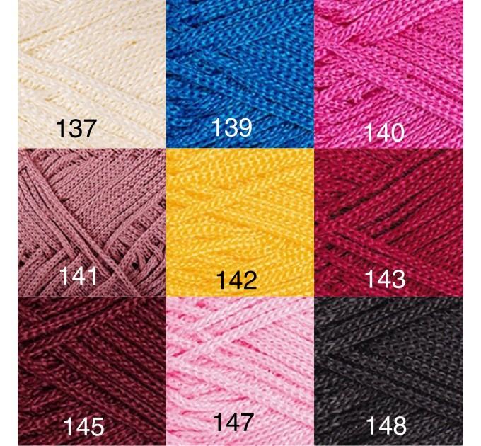 YarArt MACRAME Yarn, Cord Yarn, Macrame yarn, Crochet Rugs, Rug Yarn, Macrame Cord, Macrame Rope, Macrame Bag  Yarn  2