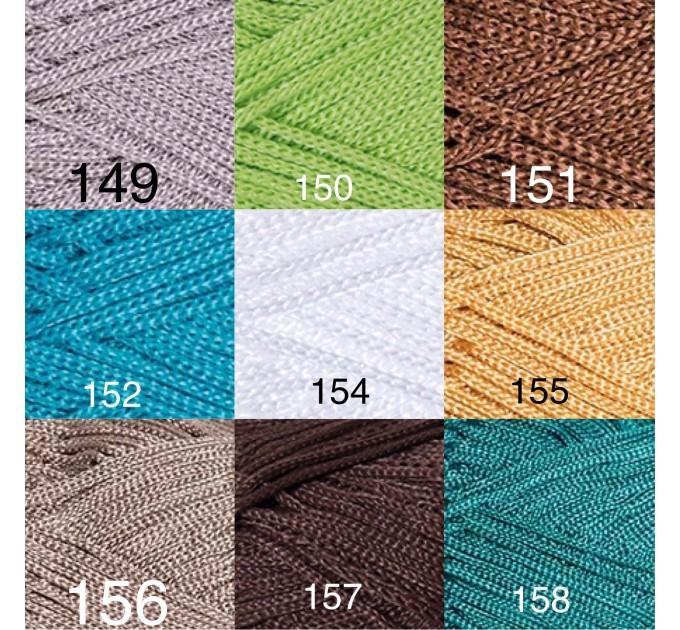 YarArt MACRAME Yarn, Cord Yarn, Macrame yarn, Crochet Rugs, Rug Yarn, Macrame Cord, Macrame Rope, Macrame Bag  Yarn  3