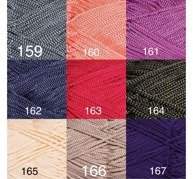 YarArt MACRAME Yarn, Cord Yarn, Macrame yarn, Crochet Rugs, Rug Yarn, Macrame Cord, Macrame Rope, Macrame Bag  Yarn  4