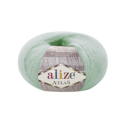 ALIZE ATLAS Yarn Mohair Wool Yarn Lace Yarn Multicolor Crochet Shawl Soft Yarn Fluffy Thread Knitting Shawl Scarf Hat Poncho