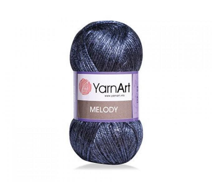 YARNART MELODY Yarn Blend Wool Multicolor Yarn Rainbow Melange Yarn Gradient Yarn Knitting Sweater Hat Scarf Crochet Poncho Shawl  Yarn