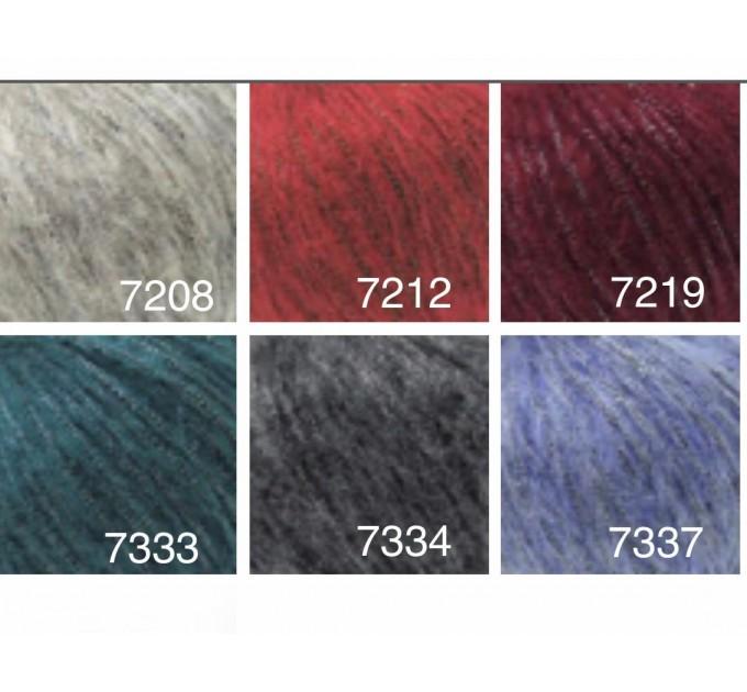 GAZZAL QUEEN Yarn Wool Yarn Metallic Yarn Knitting Scarf Cardigan Poncho Crochet Pullover Shawl Sweater Hat  Yarn  2