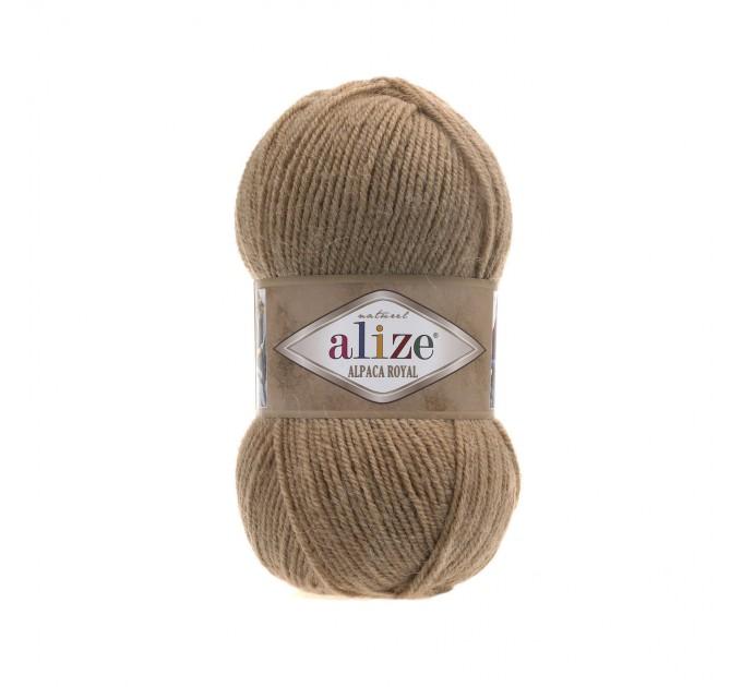 ALIZE ALPACA ROYAL Yarn Alpaca Wool Yarn Knit Alpaca Yarn For Baby Crochet Knitting Scarf Cardigan Sweater Hat Poncho Pullover Shawl  Yarn