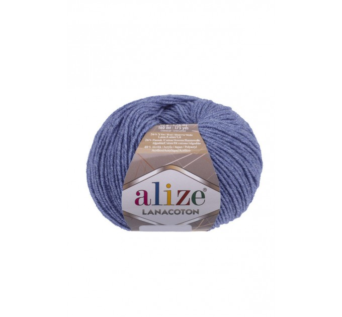 ALIZE LANACOTON Yarn Wool Yarn Cotton Yarn Multicolor Yarn Acrylic Crochet Yarn Knitting Sweater Shawl Cardigan Poncho  Yarn