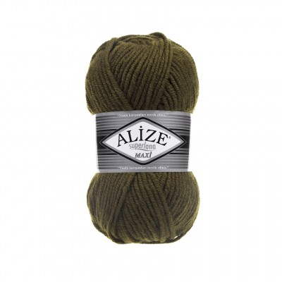 ALIZE SUPERLANA MAXI Yarn Wool Yarn Super Bulky Yarn Super Chunky Yarn Multicolor Yarn Bulky Wool Yarn Chunky Crochet Scarf Hat Poncho