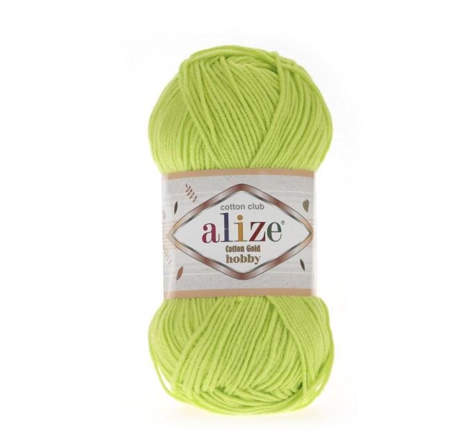 Alize COTTON GOLD HOBBY Yarn Organic Cotton Yarn Crochet Yarn Hypoallergenic Yarn Knitting Yarn Booties Baby Crochet Amigurumi Soft Yarn  Yarn  1